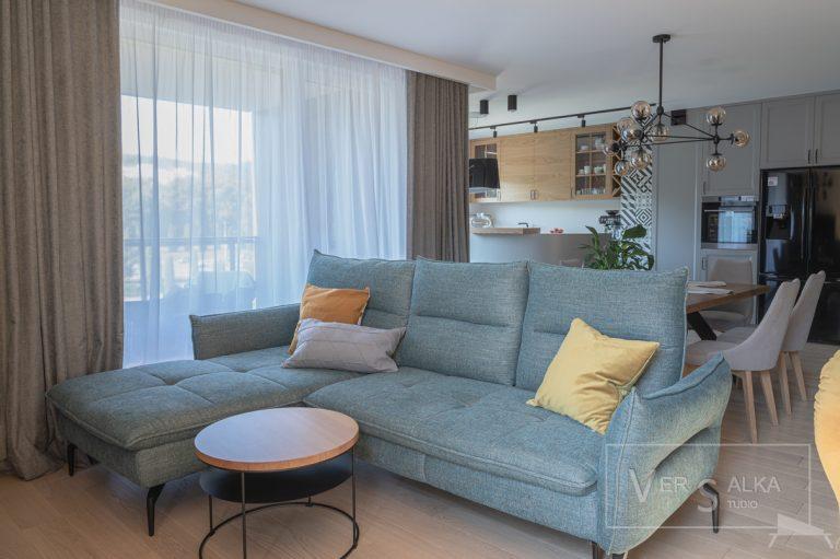 Realizacja wnętrza mieszkania Projekt Biuro projektowe Gdańsk Gdynia Sopot Trójmiasto Pruszcz Straszyn Versalka Studio
